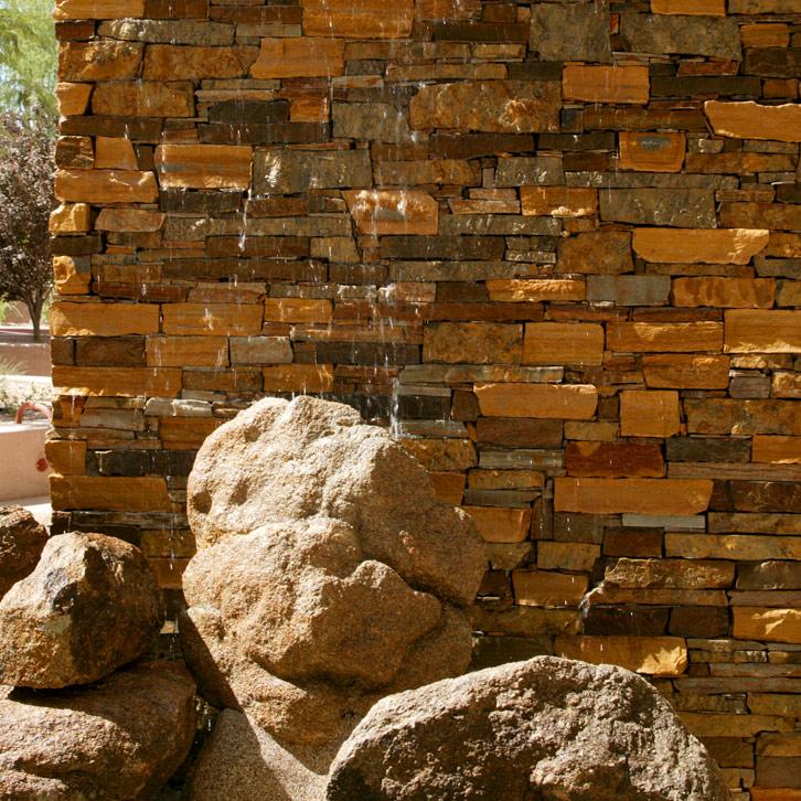Stone Fountain at Friendship Village